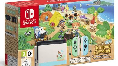 Photo of Nintendo veröffentlicht Nintendo Switch im Animal Crossing-Design