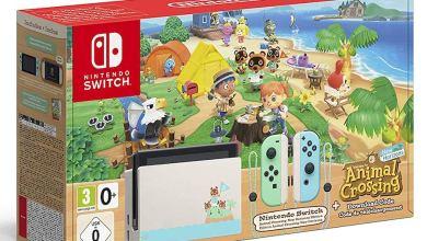 Bild von Nintendo veröffentlicht Nintendo Switch im Animal Crossing-Design