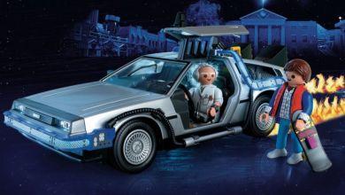 """Photo of Wieder erhältlich: Die ersten Playmobil Sets zu """"Zurück in die Zukunft"""""""
