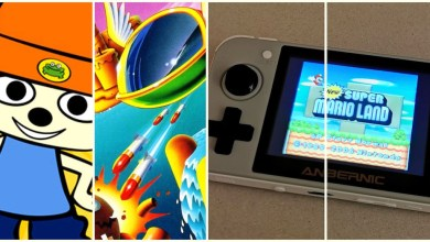 "Photo of Jetzt ""fast Live!"" – SHOCK2 Retroformat: Retro-Handheld Anbernic RG350, Fantasy Zone, PaRappa the Rapper"