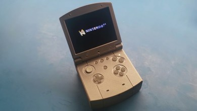 Photo of Modder baut N64-Handheld im Design des Game Boy Advance SP