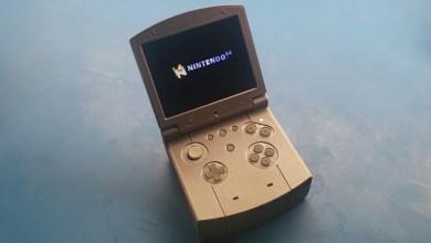 Bild von Modder baut N64-Handheld im Design des Game Boy Advance SP
