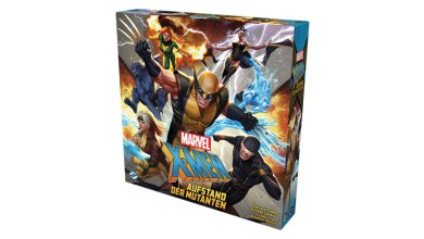 Bild von Brettspiel X-Men: Aufstand der Mutanten vorgestellt