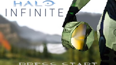 Bild von Video zeigt Halo Infinite-Gameplay im N64-Stil