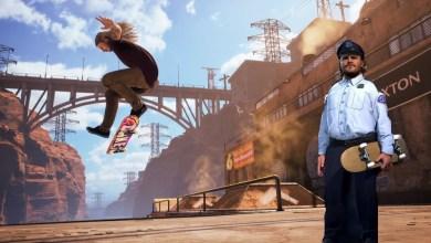 Bild von Jack Black als Officer Dick in Tony Hawk's Pro Skater 1+2 geleaked