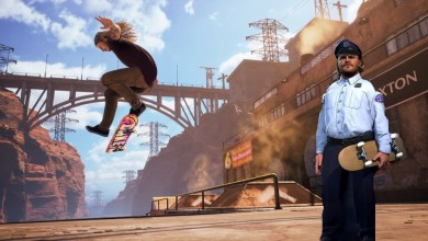 Bild von Jack Black als Officer Dick in Tony Hawk's Pro Skater 1+2 geleaked