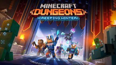 Bild von Neuer DLC für Minecraft Dungeons Creeping Winter und Hero Edition als Disc verfügbar