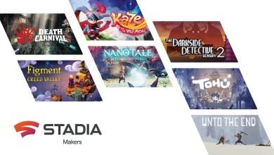 Bild von Stadia zeigt die ersten sieben Indie-Spiele des Stadia Makers Programms