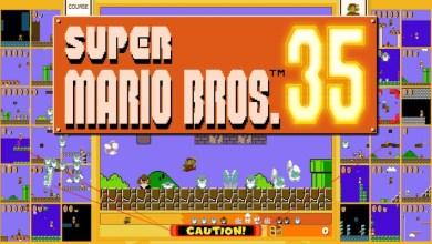 Bild von Super Mario Bros. 35 für Nintendo Switch erschienen