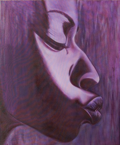 Purple Haze, 28x34, oil on canvas