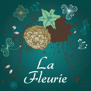 Logo Et Identite Visuelle La Fleurie