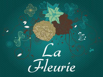 Logo et identité visuelle : La fleurie