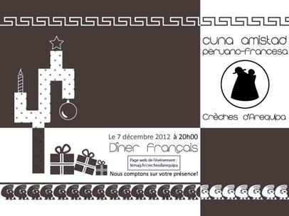 Les crèches d'Arequipa : site web et invitation