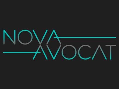 Nova Avocat : Site web et logo