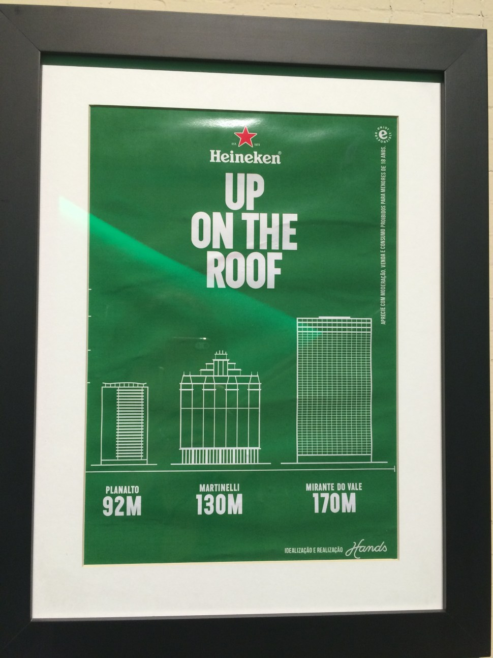 heineken up on the roof facebook