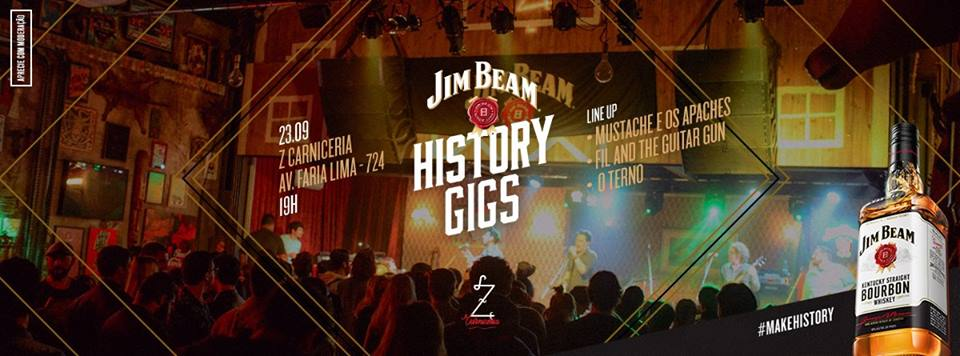jim beam history gigs