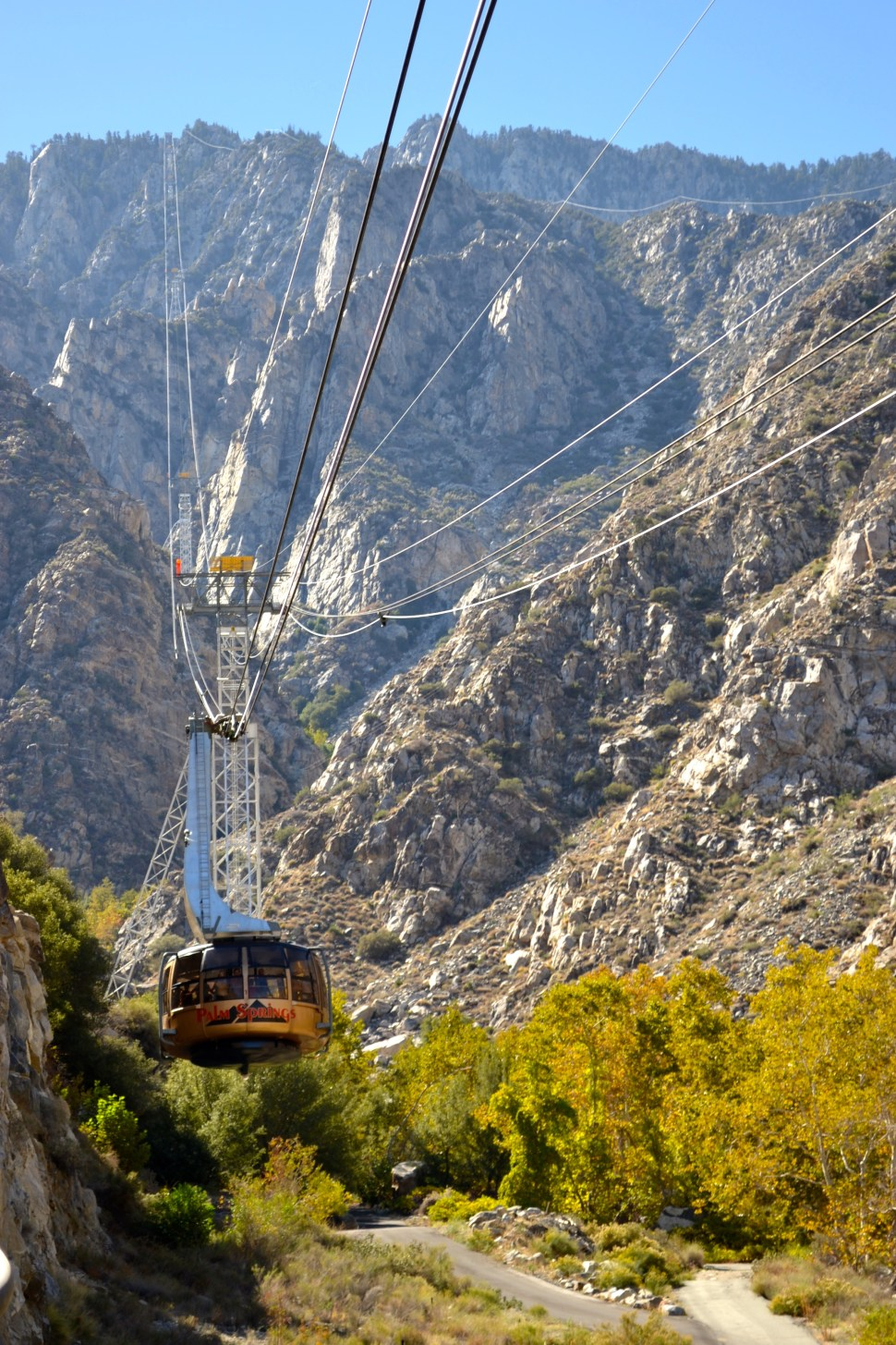 palm springs aerial tramway winter