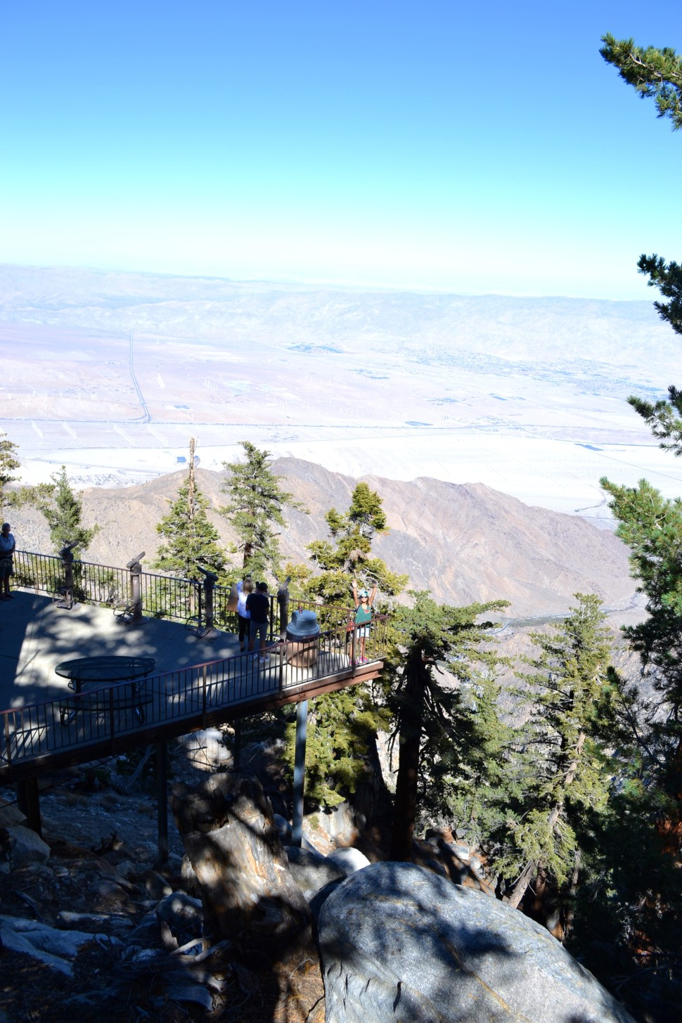 palm springs aerial tramway map