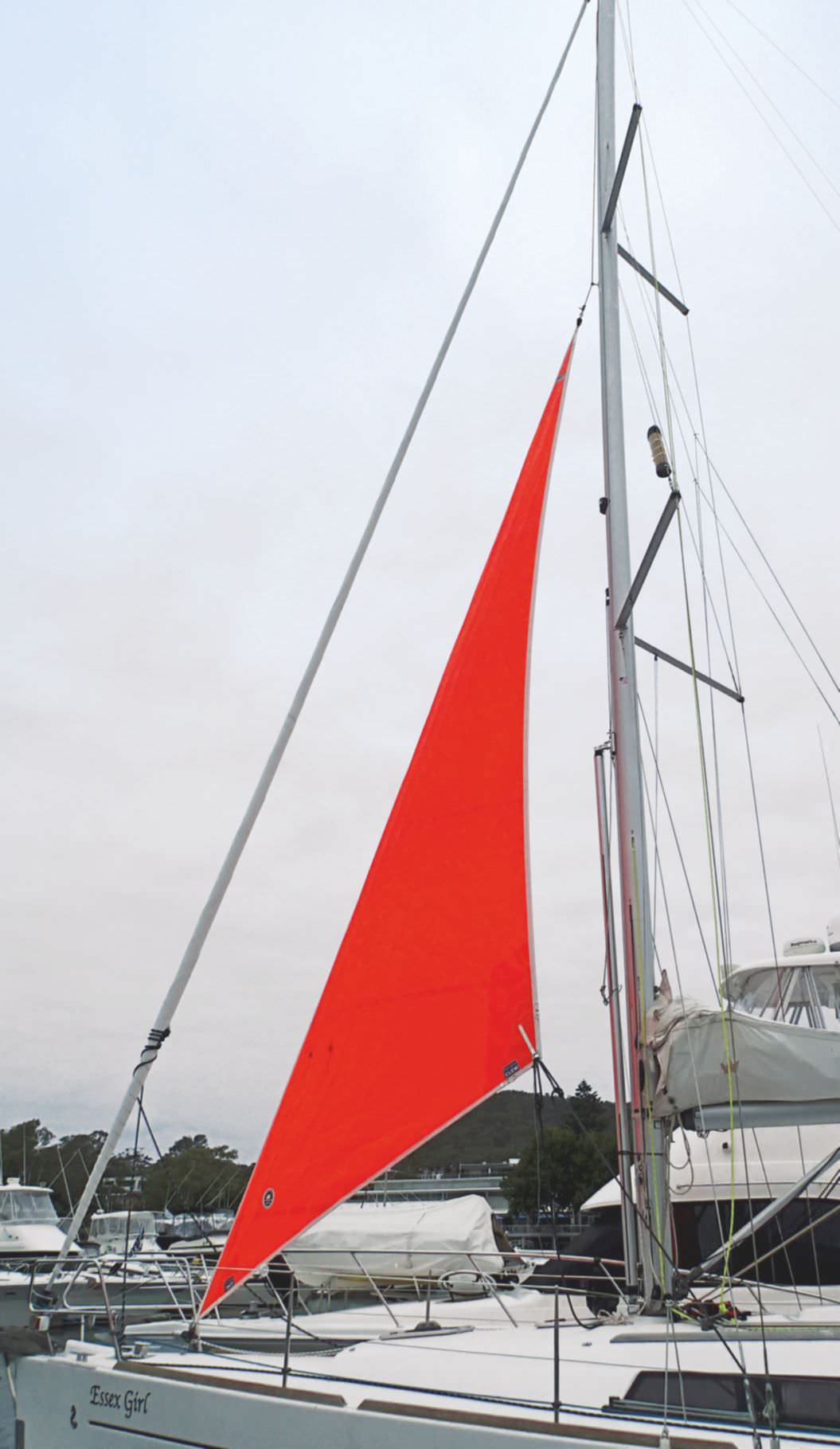 How To Rig A Storm Jib Without An Inner Forestay