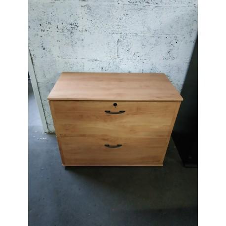 meuble de rangement bois dossier suspendu nouvelle vie