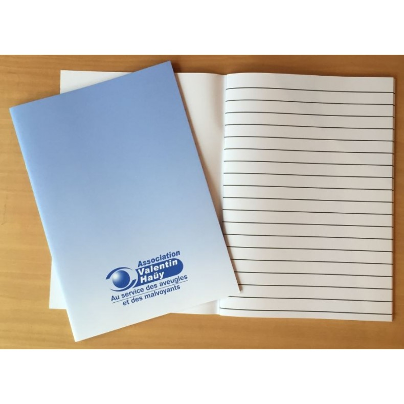Cahier Pour Amblyope 52 Pages AVH Boutique Valentin Hay