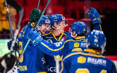 Tre Kronor vann Beijer Hockey Games