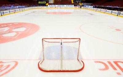 SDHL och Hockeyettan pausas omgående