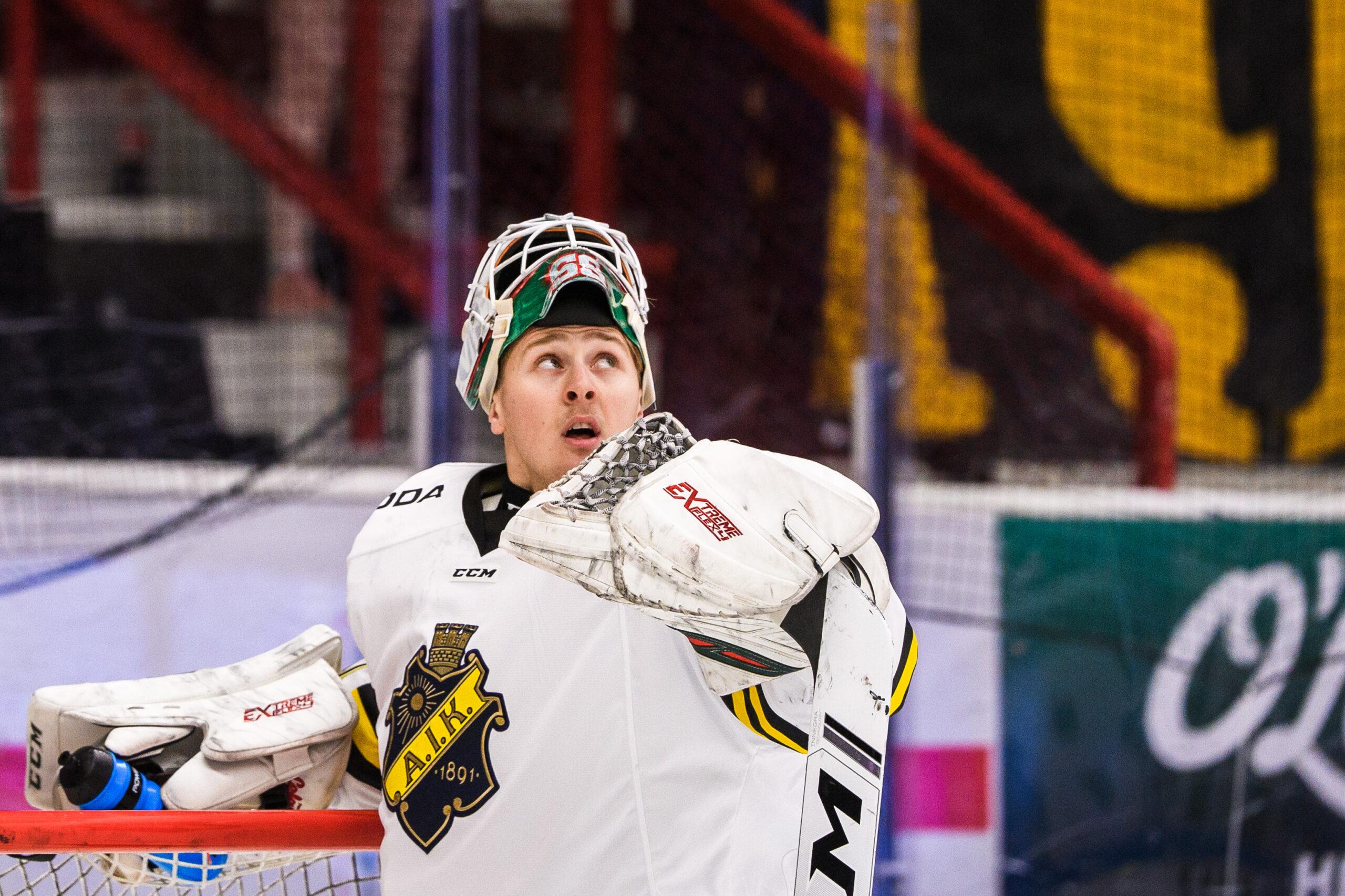 AIK hämtar två målvakter från Hockeyettan