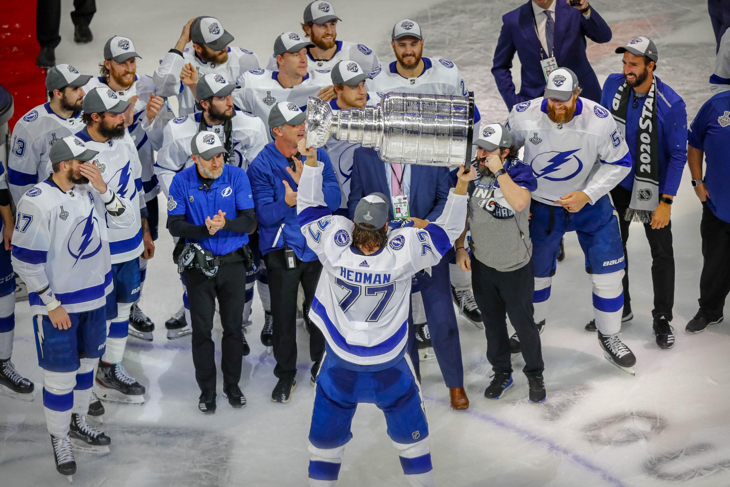 Tampa Bay mästare – Hedman bäst