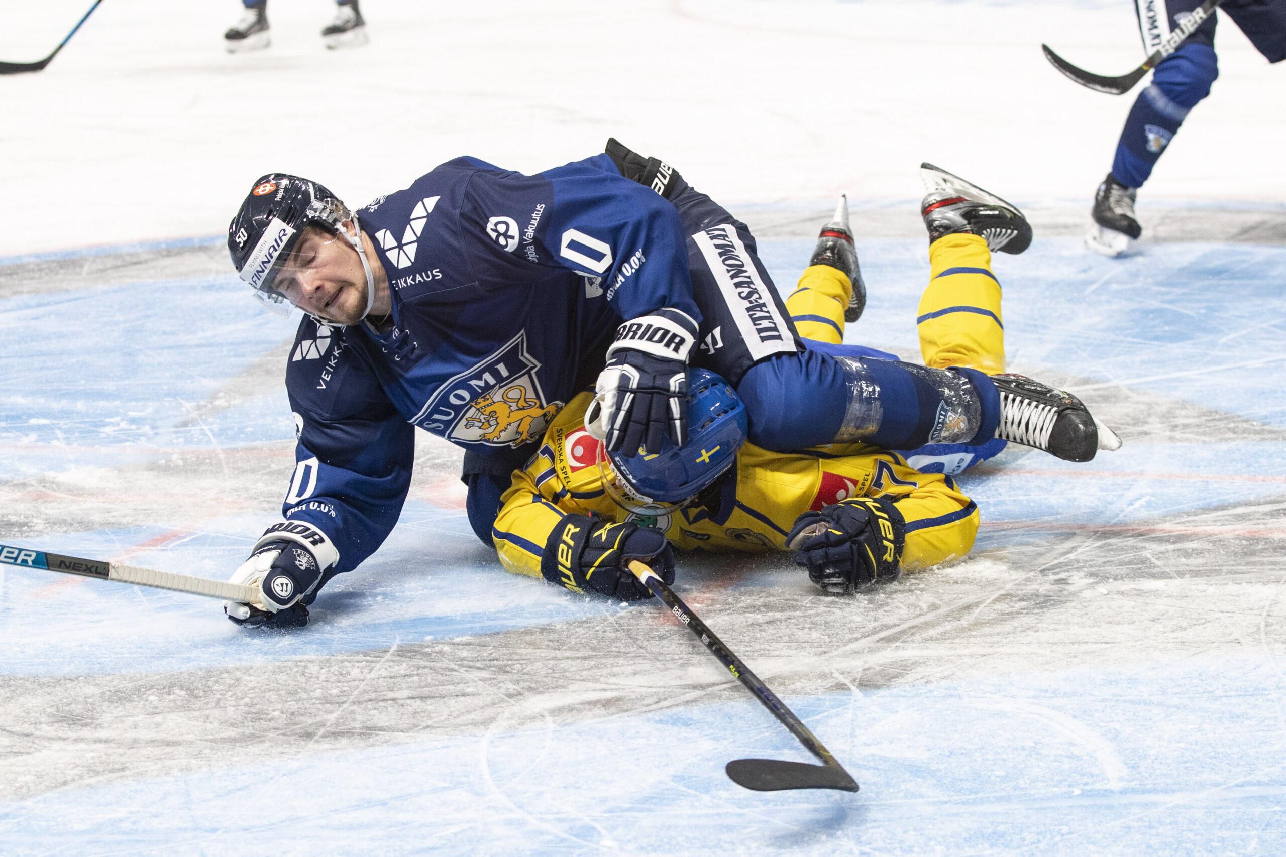 Tre Kronor sist i Karjala Tournament