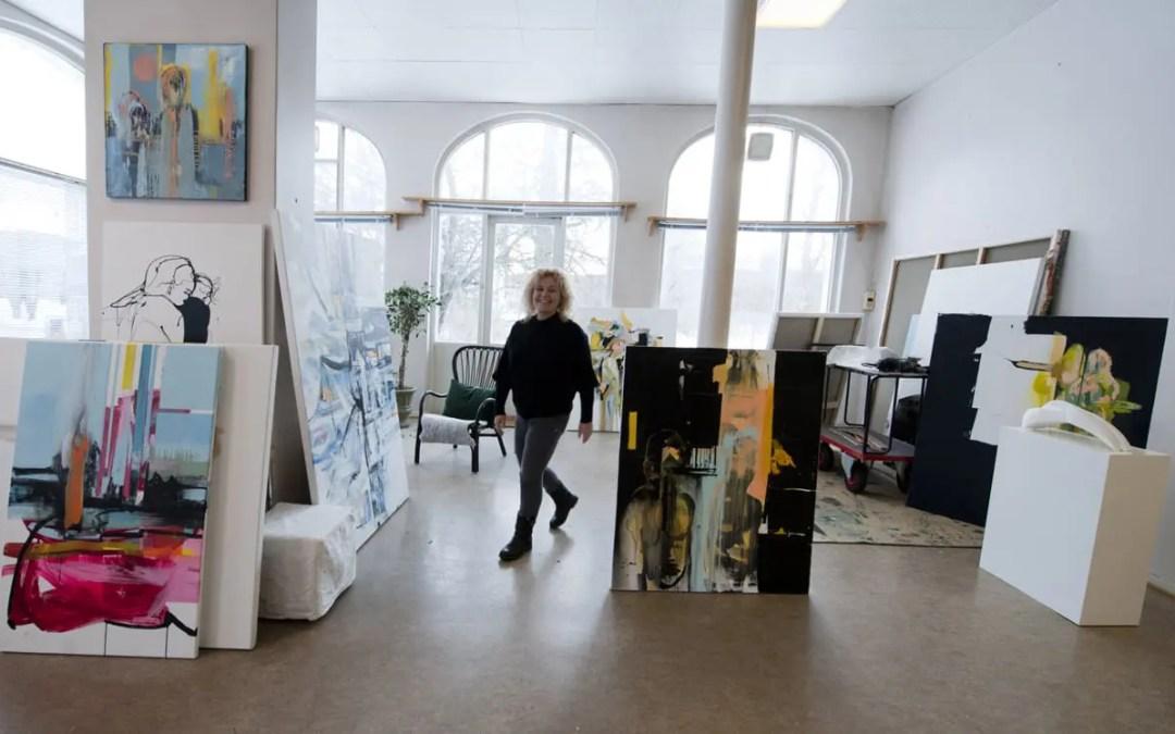 Atelierbesøk: Mia Gjerdrum Helgesen