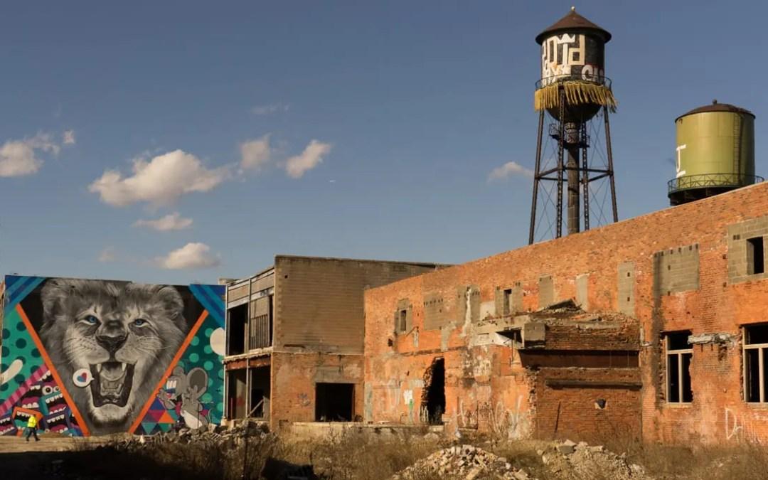Kunsten spirer i The Comeback City
