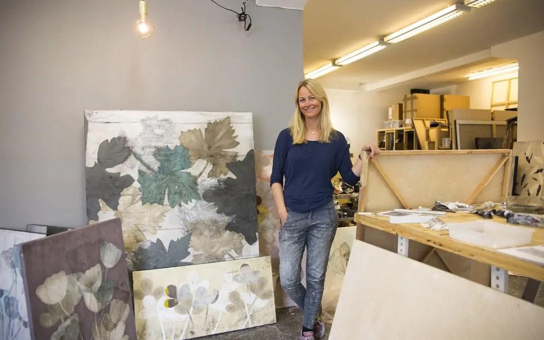 På atelierbesøk hos Cathrine Knudsen