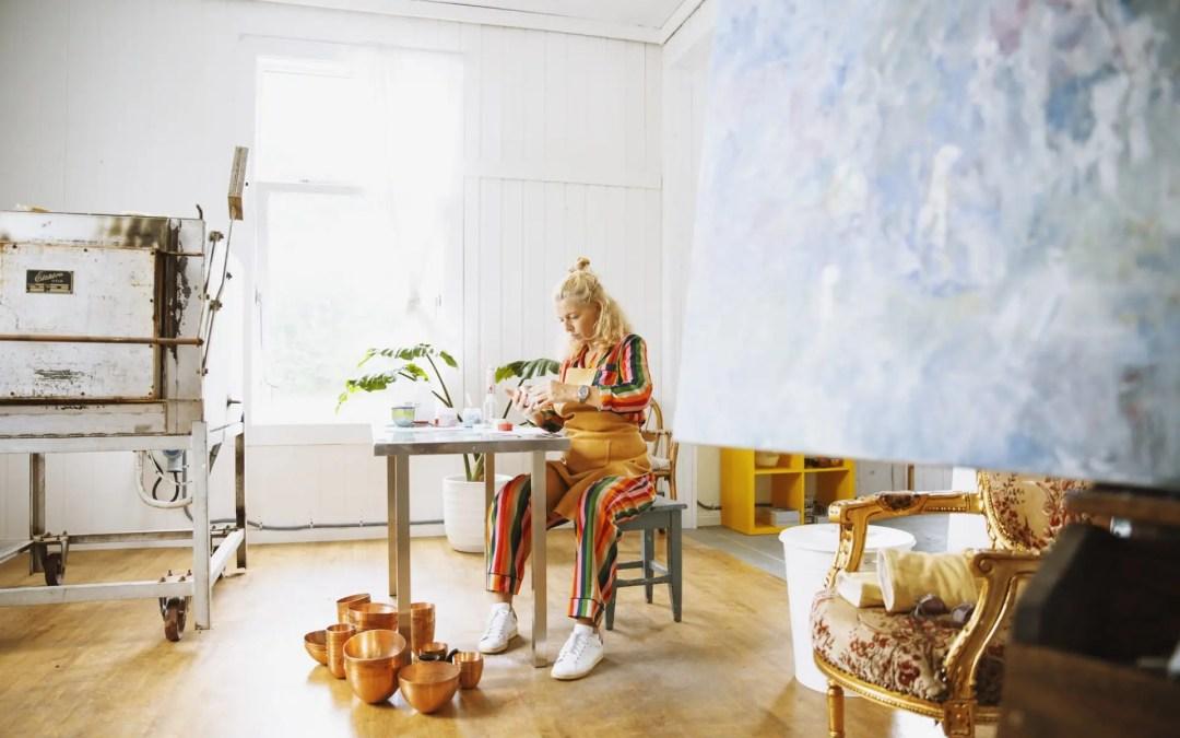 Camilla Prytz med ny emaljekolleksjon