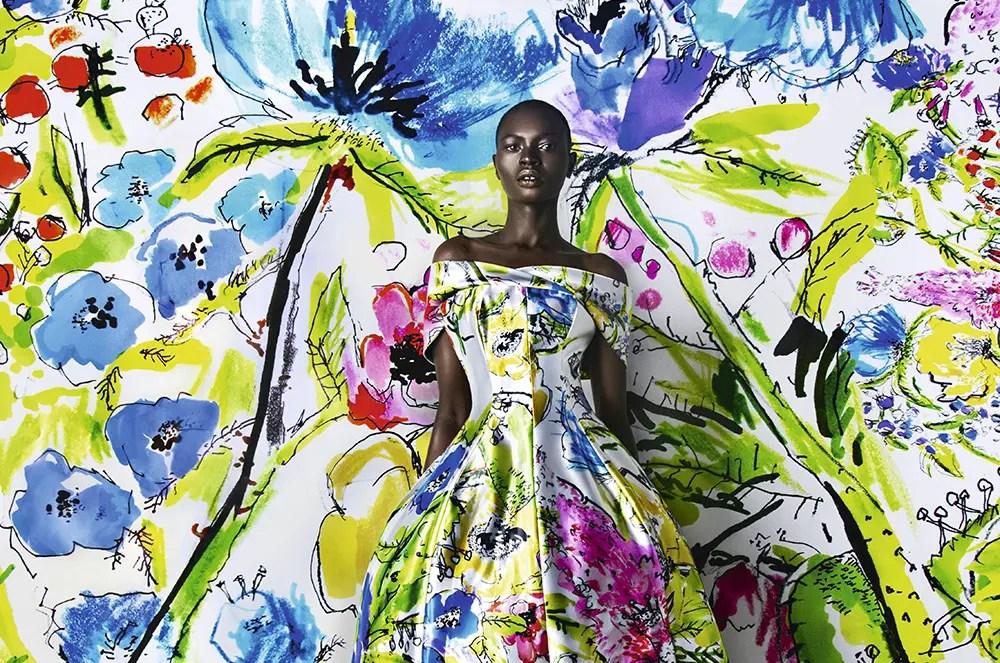 Kunsten å tegne en kjole