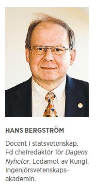 Hans Bergström krönika migration tiggare nationen Göran Hägglund Ska Sverige finnas? Neo nr 1 2015 presentation