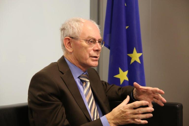 Herman Van Rompuy, ere-president Europese Raad: 'Er is maar één oplossing en dat is: het samen doen'