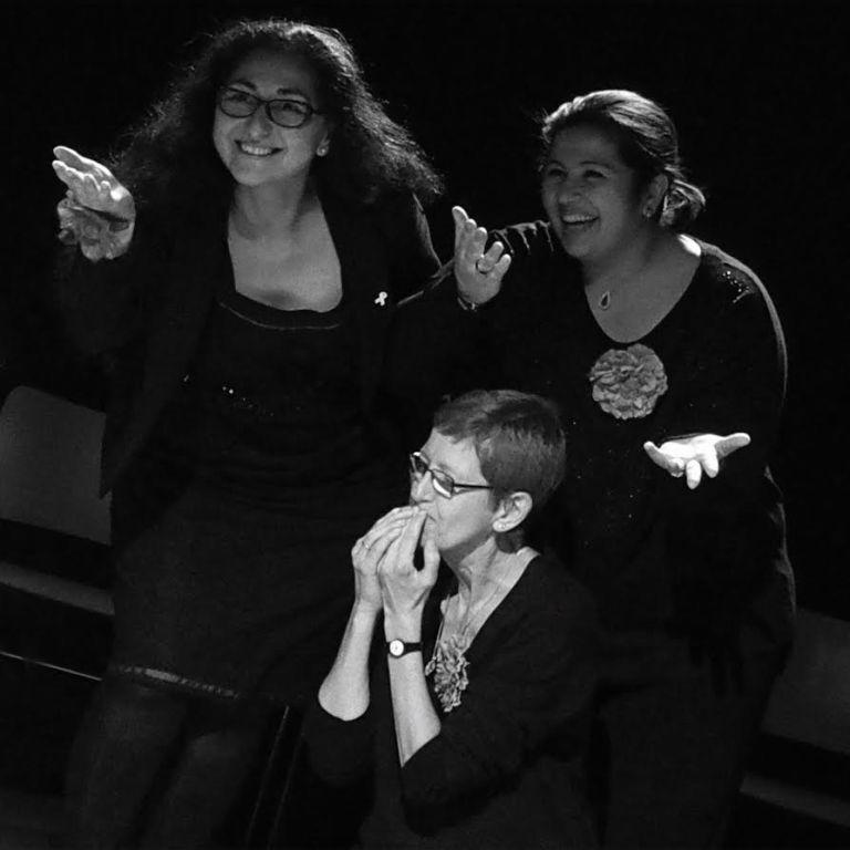 Sarah Avci maakt terugspeeltheater als empowerment voor kwetsbare vrouwen