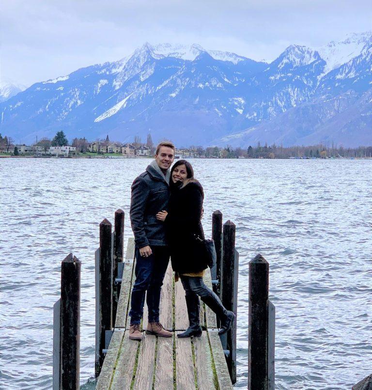 Liefde in tijden van corona: Pauwel en Gabriela in Genève