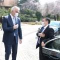 Bakan Ersoy Kırgız mevkidaşıyla bir araya geldi