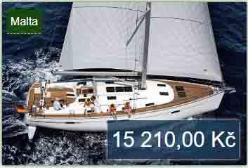 Jachta dovolená na Maltě