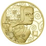 Rakouská zlatá mince 50 € - Gustav Klimt 2013.