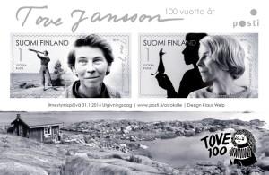 Aršík: Tove Jansson 100. roků