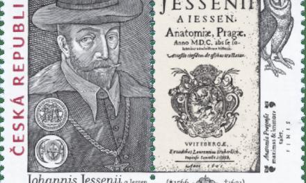 Příležitostná poštovní známka s námětem Jana Jessenia