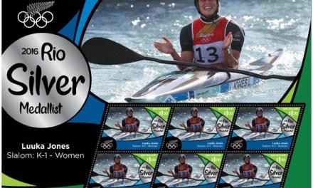 Austrálie a Nový Zéland vydávají známky svých olympijských vítězů