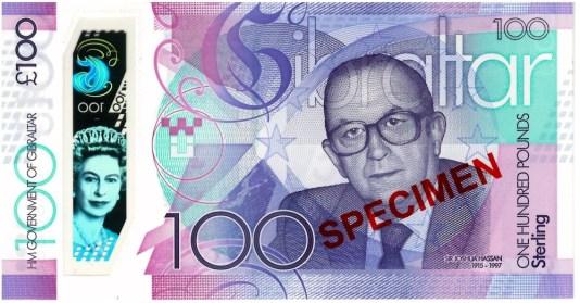 Nové gibraltarské bankovky
