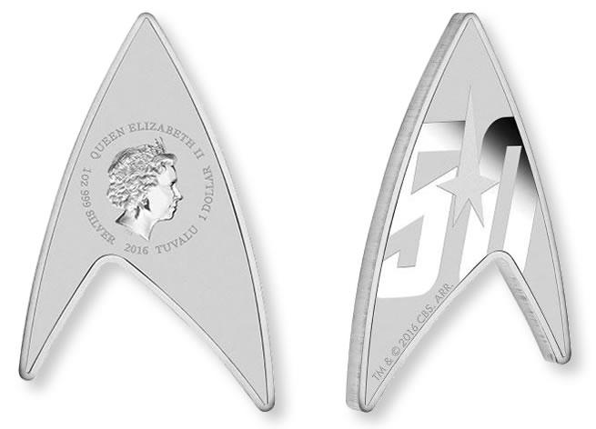 Australská mince Star Trek