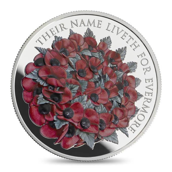 Pamětní mince Spojeného království ke Dni válečných veteránů