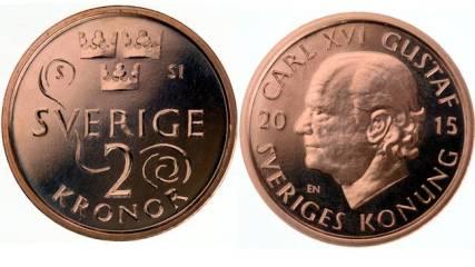Nové švédské mince