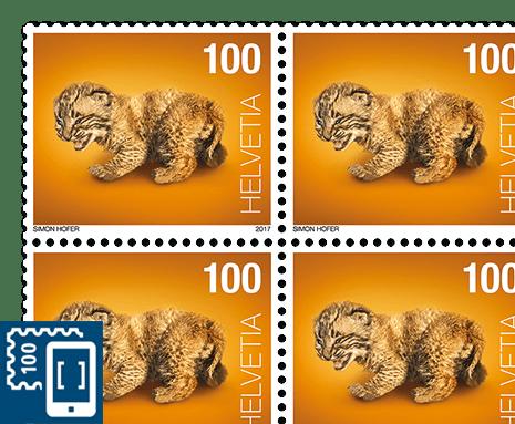 Švýcarská pošta vydává digitální známky